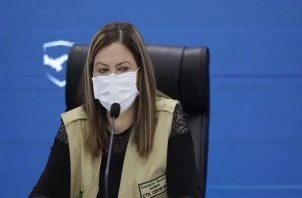 Rosario Turner aseguró que aún existen personas que no quieren cooperar con la cuarentena. Foto: Ministerio de Salud.