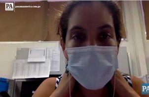 doctora Sandra López Vergès, del Instituto Conmemorativo Gorgas de Estudios de la Salud. Foto/Fanny Arias