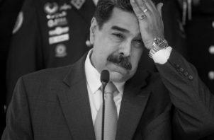 Desatar un escándalo sobre la orden de captura del presidente Nicolás Maduro, uno de los aliados de China y Rusia, en América Latina, significa un bálsamo para Trump, con el cual busca ganar réditos entre los votantes latinos.  Foto: EFE