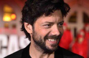 El actor español Álvaro Morte.  EFE