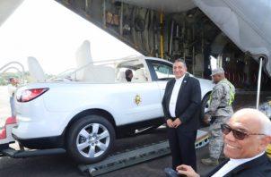 El Papamóvil fue adquirido por la administración de Juan Carlos Varela para la celebración de la JMJ el año pasado. Foto: Archivo.