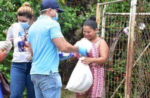 Los interesados en ser voluntarios podrán registrase en la página web de Panamá Solidario.