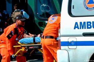 El Minsa confirmó la muerte de 5 personas por coronavirus en las últimas 24 horas en Panamá. Foto: Sinapcroc.