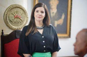 Hace 5 días el Presidente de la República la incorporó al equipo de Panamá Solidario.