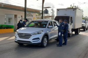 Se han intensificado las rondas y patrullaje policial en las calles de la provincia. Foto: Thays Domínguez.,