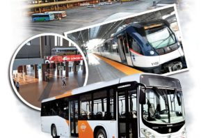 El estatus actual de operación de la terminal consiste en el trasbordo de los pasajeros que utilizan el metro y el metrobús. Foto: Epasa