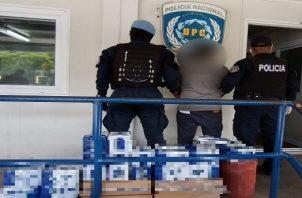 Casi 800 personas fueron retenidas el Viernes Santo a pesar de la cuarentena absoluta. Foto: Policía Nacional.