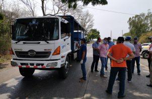 Otros distritos también han fortalecido sus cercos, entre ellos Guararé, Macaracas y Pedasí, donde funcionan las 24 horas del día. Foto/Thays Domíngez