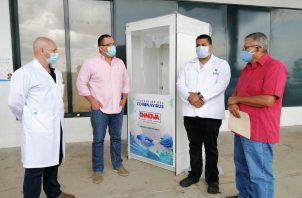 El veragüense Mario Ureña, pidió a la población a unirse en esta lucha y apoyar a los médicos y autoridades para minimizar los casos de COVID-19 que hay en todo el país. FOTO/Melquiades Vásquez