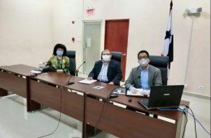 Los magistrados Greta Marchosky, Diego Fernández y Fernando Alonso integraron el Tribunal Superior de Apelaciones.
