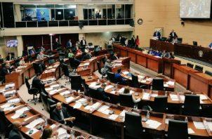 Pleno de la Asamblea Legislativa. Archivo