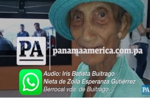 Abuelita vence al COVID19 en La Chorrera.