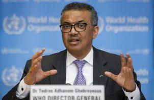 """""""Lamentamos la decisión de Trump hacia una organización que ha trabajado por la salud de los más pobres y vulnerables del mundo"""", subrayó el investigador etíope en rueda de prensa."""