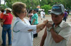 Se han aplicado 2,000 vacunas al personal de salud. Foto: Archivo
