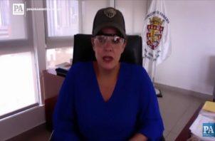 Judy Meana asume cargo en la Gobernación de la provincias de Panamá.