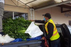 Entre los tres municipios se brindará a las comunidades los alimetos y rebros que sean indispensables. Foto/Mayra Madird