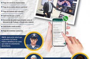 Prontamente se habilitará el portal web del ciudadano, en el cual estarán centralizados todos los trámites digitales. Foto: Epasa