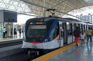 Durante la cuarentena por el COVID-19, El Metro de Panamá ha tenido más de un 80% de disminución de la afluencia de usuarios. Foto: Panamá América.
