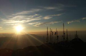 Se ha respetado la restricciones de circulación en los parques nacionales, como el Volcán Barú. Foto de archivo