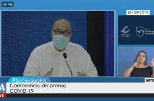 Director de la Caja de Seguro Social, Enrique Lau Cortés