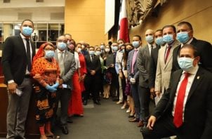 La Asamblea Nacional de Diputados va para un mes de estar sesionando a puerta cerrada por el  COVID-19. Archivo