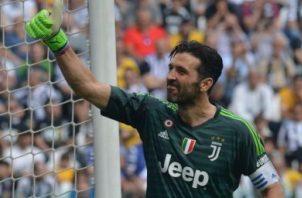 Gianluigi Buffon. Foto:EFE