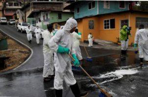 Panamá maniene a su población en cuarentena desde hace más de un mes debido a la pandemia de COVID-19 que afecta a este país y al mundo.