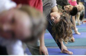 El surgimiento del yoga es parte de un cambio cultural más amplio en Alabama. Foto / Gregory Bull/Associated Press.