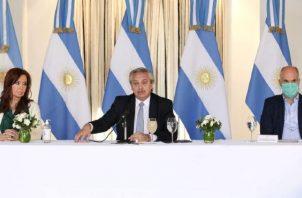 Alberto Fernández, presidente de Argentina. EFE
