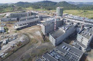 La Ciudad Hospitalaria debió estar lista a principios del año 2015, sin embargo, la misma nunca fue reactivada por el Gobierno pasado. Archivo