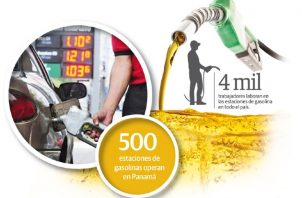 El precio del combustible ha bajado un 40% en las estaciones de servicios, en todos los derivados del petróleo.