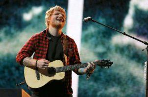 Ed Sheeran. Foto: Archivo