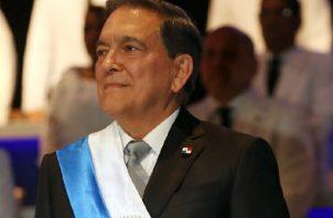Laurentino Cortizo, presidente de la República de Panamá /2019-2024. Archivo