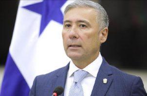 Olmedo Arrocha, magistrado de la Corte Suprema de Justicia. Archivo.