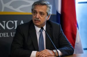 Alberto Fernández, presidente d Argentina. EFE