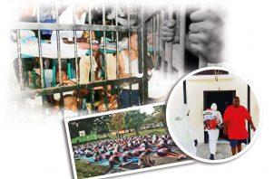 Más de 18 mil detenidos hay en las cárceles del país. Archivo