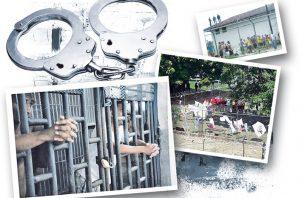 Un 42% de los privados libertad del país aún están siendo procesados. Archivo.