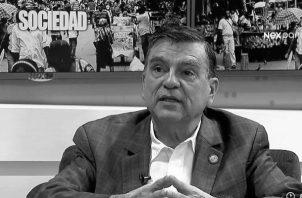 Marco Gandásegui siempre defendió la nacionalidad panameña. Trabajó como profesor de la Escuela de Sociología de la Universidad de Panamá. Foto Archivo.