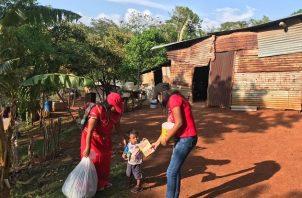 La ayuda a las comunidades indígenas para afrontar el COVID-19 ha llegado con el Plan Panamá Solidario.