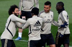 Jugadores de Real Madrid podrán volver a entrenar. Foto:EFE