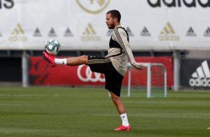 Eden Hazard. Foto:@Real Madrid C.F.