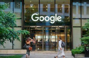 La sede en Londres de Google, la única compañía grande en ser sancionada bajo la ley de privacidad europea. Foto / Benjamin Quinton para The New York Times.