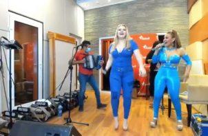 Baile virtual. Foto: YouTube