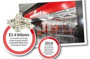 A marzo de 2020 el grupo financiero panameño MFG contaba con $3.4 billones de cartera, $2.8 billones de depósitos y $576 millones de patrimonio.