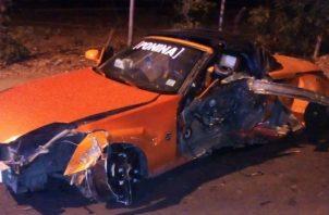 El herido fue trasladado a recibir atención médica por particulares. Foto: Thays Domínguez.