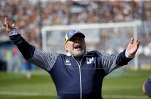 Diego Maradona. Foto: EFE