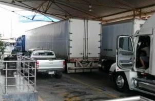 Camioneros en Guatemala dijeron que también se unen a la medida. Foto: Cortesía.