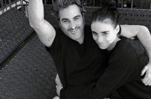 Joaquín Phoenix y Rooney Mara. Instagram