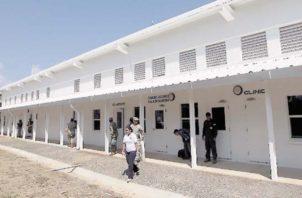 Actualmente, hay nueve privados de libertad en el Centro Penitenciario de Punta Coco.