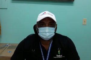 Mario Lozada, director regional del Ministerio de Salud en Coclé